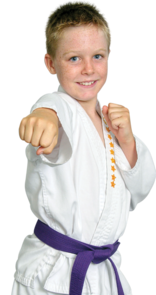 Engum's Academy Child Martial Arts Student